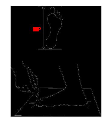 misura scarpa