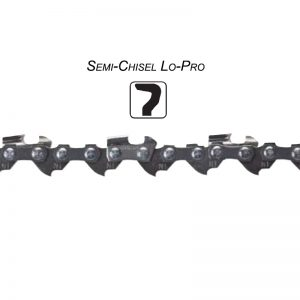 Semi-Chisel Lo-Pro