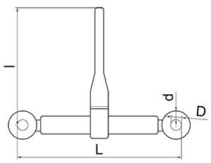 TENDICATENA-CRICCHETTO-GRADO-100-MISUR