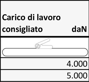 CINGHIE A CRICCHETTO ERGO AD ANELLO 50 MM